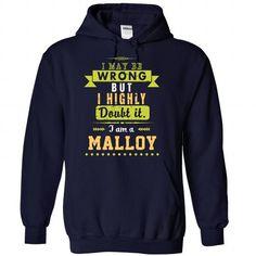 Malloy - #novio gift #bridal gift. TAKE IT => https://www.sunfrog.com/No-Category/Malloy-8863-NavyBlue-29864508-Hoodie.html?68278