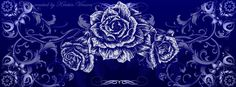 DeviantArt: More Like Blue Roses Facebook Cover by CrystalKittyCat
