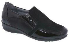 Black Leather NEW Men/'s Drew Max Casual Therapeutic Orthapedic Slip-on Shoes