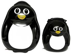 Penguin backpack and luggage! How can you resist??
