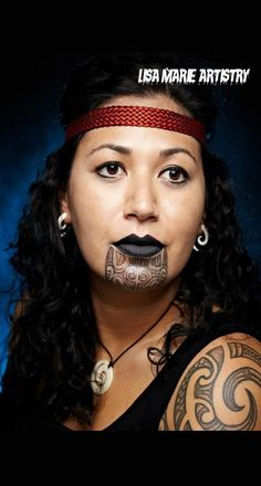 Tā moko is the permanent body and face marking by Māori, the indigenous people of New Zealand.