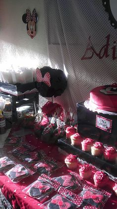 Candy buffet  minnie Mouse https://www.facebook.com/media/set/?set=a.10152500586063616.1073741982.364671318615&type=1