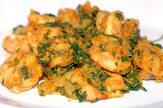 If you like shrimp, try this gluten-free and Paleo Curried shrimp recipe. The larger than life flavors meld together in this succulent and healthy dish.
