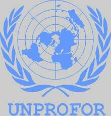 UNPROFOR - the United Nations Protection Force in Bosnia and Herzegovina from 1992 to 1995