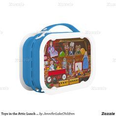 Your Custom Blue yubo Lunch Box