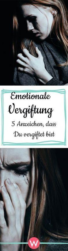 Emotionale Vergiftung: Manchmal erfährt unsere Seele so viel Leid, dass es sich anfühlt, als würde eine schwarze Welle über dir zusammenschlagen #psychologie #gesundheit #gesund