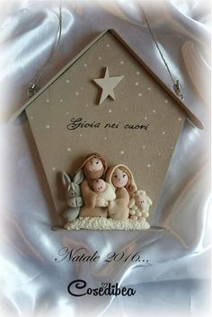 Clay Christmas Decorations, Polymer Clay Christmas, Christmas Nativity Scene, Christmas Projects, Holiday Crafts, Christmas Ornaments, Clay Projects, Clay Crafts, Diy And Crafts
