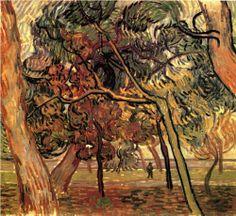 Study of Pine Trees - Vincent van Gogh