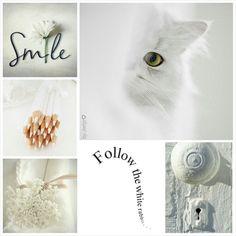 Shades of white. #moodboard #moodboardchallenge #collage #byJeetje♡ #inspirationboard