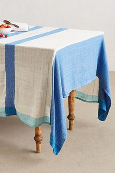 uh oh. the #anthropologie tag sale is ON! just added this tablecloth to my cart...