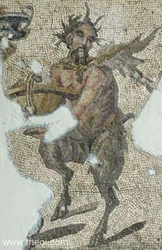 Pan - Mosiac 2nd/3rd century CE, Antioch