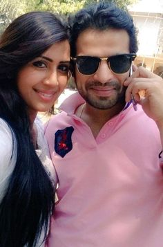 Karan Patel and Ankita Bhargava #Bollywood #Fashion #Style #Beauty