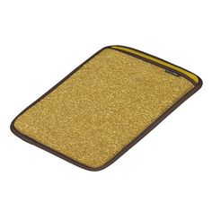 Gold Glitter design Gold Glitter iPad Sleeve by kahmier Shop for another MacBook Air sleeve.