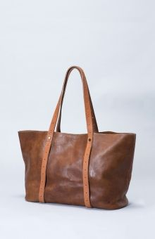 Raaka Tote Bag by Elk Accessories Elk Handmade from raw, unlined, vegetable tanned leather Tan Leather Handbag Tan Leather Handbags, Leather Bags, Leather Totes, Elk Accessories, Tote Bags Online, Carry All Bag, A Boutique, Tote Handbags, Reusable Tote Bags