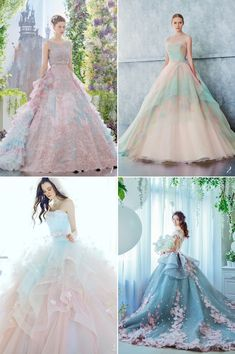 Spring is in the air, and with the joyful season comes refreshing color combinations! When dreamy colors work together to create something unexpected, the romance level is just too hard to resist. Get ready to fall in love with these jaw-droppingly beautiful colored gowns below that demonstrate a perfect fusion of whimsy, romance, and elegance! …