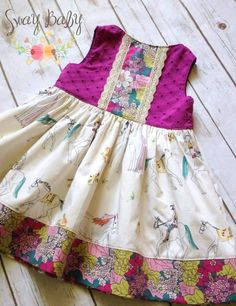 Image of Though she be but little Baby Girl Frocks, Frocks For Girls, Little Girl Outfits, Little Girl Dresses, Kids Outfits, Girls Dresses, Baby Frocks Designs, Kids Frocks Design, Baby Girl Dress Patterns