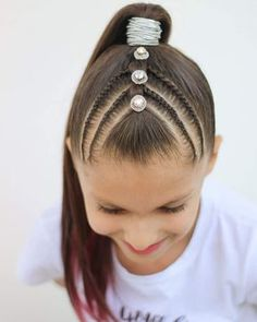Baby Hairstyles Ideas – Baby and Toddler Clothing and Accesories Baby Girl Hairstyles, Cool Braid Hairstyles, Princess Hairstyles, Baddie Hairstyles, Trendy Hairstyles, Hairstyle Ideas, Girl Hair Dos, Hair Upstyles, Natural Hair Styles