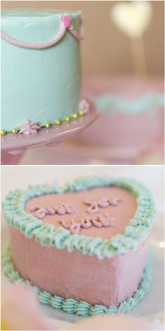 Frau Zuckerfee: Cake decorating with buttercream