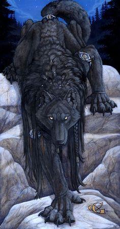 Eyes_of_the_Night_by_goldenwolf @deviantart.com