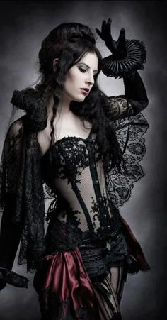 Goth http://pinterest.com/balsagoth74/rockers-goth-and-inked-beautys/