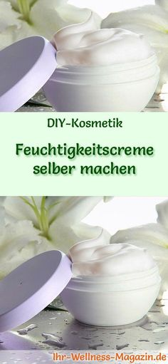 Feuchtigkeitscreme selber machen – Rezept und Anleitung Making face cream yourself: So you can make a moisturizer yourself, try the … Creme Anti Age, Anti Aging Cream, Oily Skin Care, Skin Care Tips, Clear Skin Tips, Making Faces, Anti Aging Tips, Beauty Recipe, Natural Cosmetics