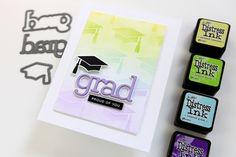 Graduation Cards Handmade, Handmade Birthday Cards, Graduation Ideas, Handmade Cards, Stampin Up Christmas, Fathers Day Cards, Graduation Invitations, Heartfelt Creations, Simon Says Stamp