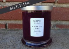 The Cabernet Wine candle is just enough to give you a buzz. NO worries of a hangover! Available on gehati.etsy.com #gehaticandle #etsyhomeaccessory #etsyhome #etsyshop #etsycandle #winecandle #weddingfavor #bridesmaidgift #weddinggift #homeaccessories #modernhomeaccessory #strongscentcandle @karynjbrooke @ValeriaCute123 @valerym @vschlabitz @shazmac1 @wolfwoman12 @nathjacques @gogirlgo @kristendisney @piperroe1