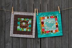 And a tutorial to boot!  Love these squares!