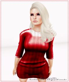 Moda no SL by Luah Benelli: Virtual Diva - New Amore Dress