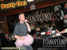 FUN is inevitable at Piano Piano Dueling Pianos!