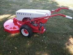 "1964 Gravely L8 walk behind with 30"" mower deck. Bought by my dad in the late 70's. Restored by my brother. Won Outstanding Restoration Award at the 2012 Gravely Mow-In, Williamsport PA"