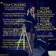 David McGovern North American Youth Congress 2013