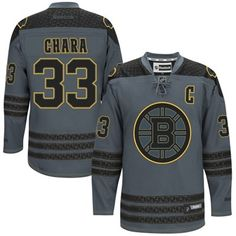 Mens Boston Bruins Zdeno Chara Reebok Charcoal Cross Check Premier Fashion  Jersey Hockey Shop 6b2da3bb0