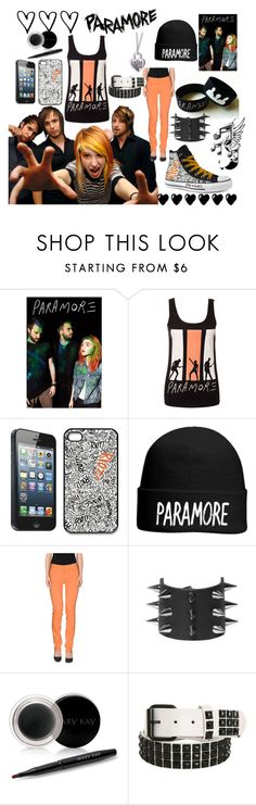 """""""Paramore <3"""" by dolphinloverd ❤ liked on Polyvore featuring Converse, OTTO, 7 For All Mankind and Mary Kay"""
