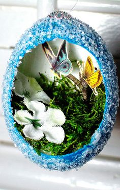 recycling for easter and christmas - crafts ideas - crafts for kids