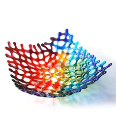Art Glass For Sale Art Glass Architecture Refferal: 5380613445 Fused Glass Plates, Fused Glass Art, Stained Glass Art, Glass Bowls, Slumped Glass, Smash Glass, Glass Fusion Ideas, Glass Fusing Projects, Glass Art Pictures