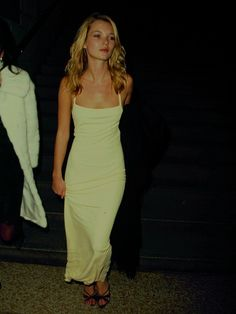 The Classic Slip Dress as Modelled by Kate Moss.