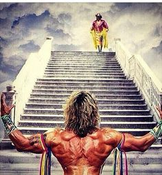 Ultimate Warrior going to hang with the greats that have passed away