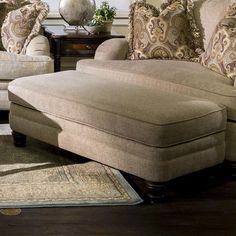 Tarleton Ottoman in Tan   Nebraska Furniture Mart