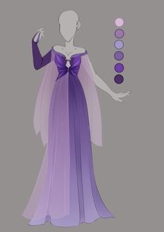 :: Commission April 09: Outfit Design :: by VioletKy on DeviantArt