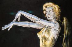 Hajime Sorayama Brings His Sexy-Futuristic Robots to Jacob Lewis Gallery in NYC