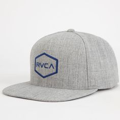 RVCA Commonwealth Mens Snapback Hat 254757115 | Snapbacks