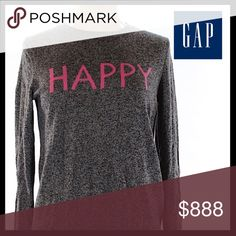 GAP Sweater GAP Sweater. Fabric content is 55% Nylon, 30% Merino Extra Fine Wool, 15% Acrylic. Hand Wash Cold. Excellent Condition!! GAP Sweaters