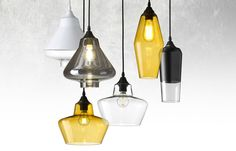 One, Sia, Point & Alba Pendants | About Space