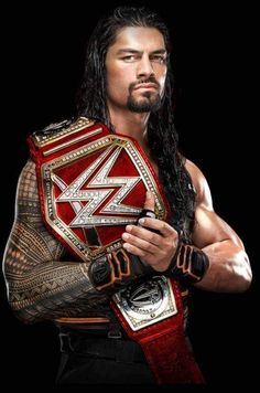Leati Joseph Anoa'i (Roman Reigns the WWE Universal Champion) Roman Reigns Wwe Champion, Wwe Superstar Roman Reigns, Wwe Roman Reigns, Roman Empire Wwe, Wwe Lucha, Roman Kings, Roman Reigns Dean Ambrose, Roman Regins, Catch