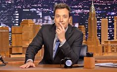 The usual comparison of Jimmy Fallon and Stephen Colbert is that the former doesn't become partisan in his political humor and the latter is genially liberal. Some say this is one reason The Tonight Show gets higher ratings than The Late Show— that Colbert's politically laced humor automatically loses