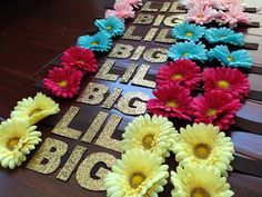Headbands for Big Little Reveal!
