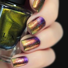 Nails of the Day: Mega Multichromes