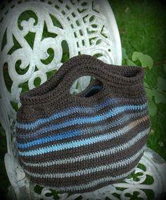 MES FAVORIS TRICOT-CROCHET: Modèle gratuit au crochet : Le Barjo sac