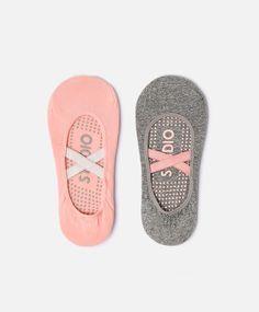Pack 2 pares de meias pilates - OYSHO